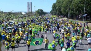 Manifestações pró Bolsonaro